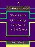 Counselling - Robert Manthei