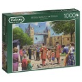 Beefeaters At The Tower - 1000 Teile Puzzle -