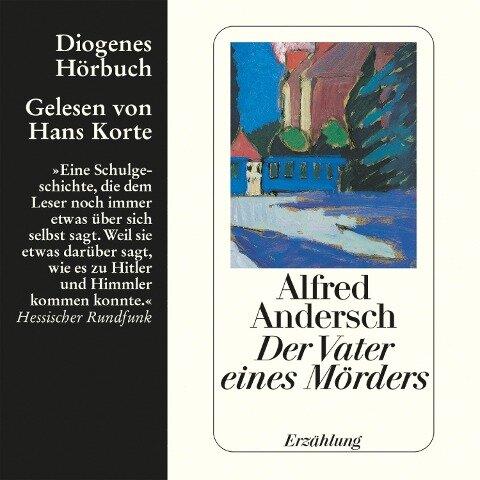 Der Vater eines Mörders - Alfred Andersch