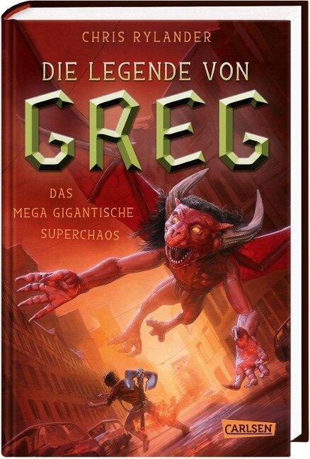 Die Legende von Greg 2: Das mega-gigantische Superchaos - Chris Rylander