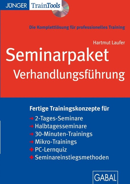 Seminarpaket Verhandlungsführung - Hartmut Laufer