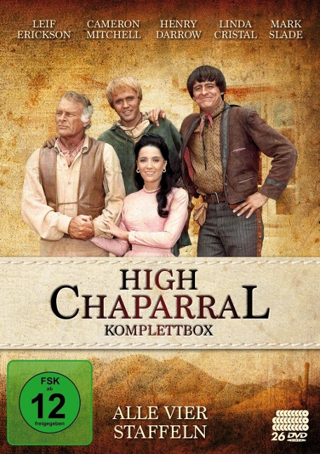 High Chaparral - Komplettbox: Alle vier Staffeln -