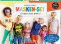 Masken-Set zum Basteln und Bemalen -