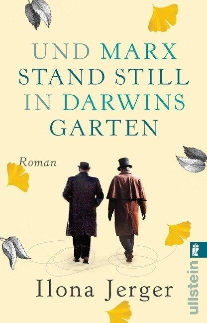 Und Marx stand still in Darwins Garten - Ilona Jerger