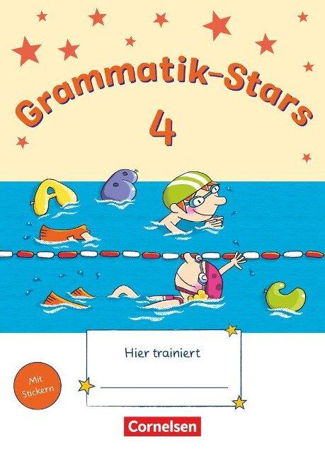 Grammatik-Stars 4. Schuljahr. Übungsheft -