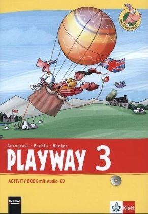 Playway ab Klasse 3. 3.Schuljahr. Activity Book mit Audio-CD -