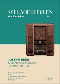 Schlagerperlen der 30er Jahre Heft 1 - Joseph Beer