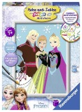 Elsa, Anna & Kristoff. Malen nach Zahlen Serie D Character -
