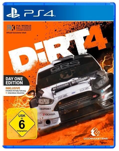 DiRT 4 Day One Edition (PlayStation PS4) -
