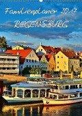 Familienplaner Regensburg (Wandkalender 2017 DIN A2 hoch) - Jutta Heußlein