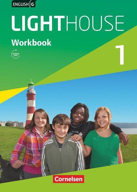 English G LIGHTHOUSE 1: 5. Schuljahr. Workbook mit Audios online - Gwen Berwick, Sydney Thorne