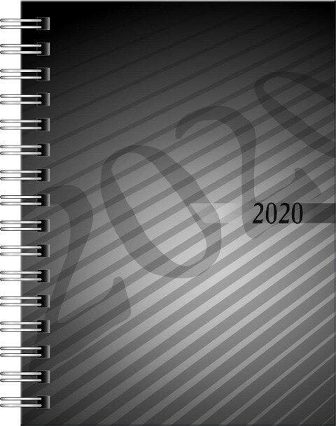 rido Taschenkalender 2020 perfect, PP schwarz -