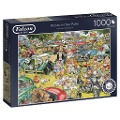 Picnic in the Park - 1000 Teile Puzzle -