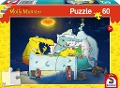 Molly Monster: Molly Monster bekommt ein Geschwisterchen, 60 Teile Puzzle -