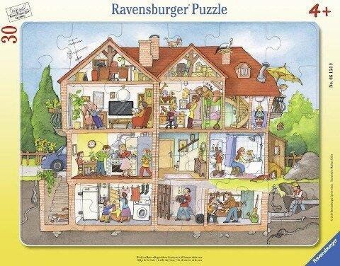 Blick ins Haus. Rahmenpuzzle 30 Teile -