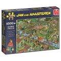 Jan van Haasteren - Der Gemüsegarten - 1000 Teile Puzzle -
