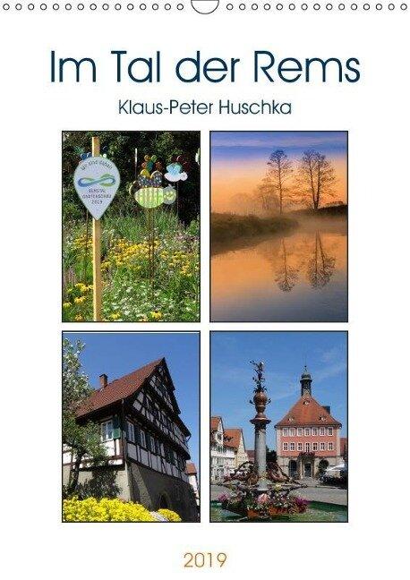 Im Tal der Rems (Wandkalender 2019 DIN A3 hoch) - Klaus-Peter Huschka u. a.
