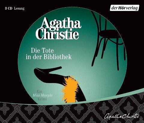 Die Tote in der Bibliothek. 3 CDs - Agatha Christie