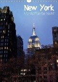 New York - Manhattan bei Nacht (Wandkalender 2019 DIN A4 hoch) - Jana Thiem-Eberitsch