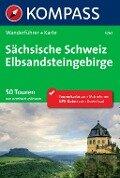 Kompass Wanderführer Sächsische Schweiz, Elbsandsteingebirge - Bernhard Pollmann