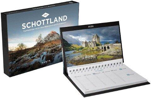 Schottland Tischkalender 2020 -