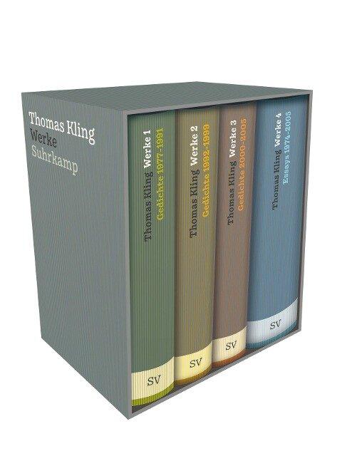 Werke in vier Bänden - Thomas Kling