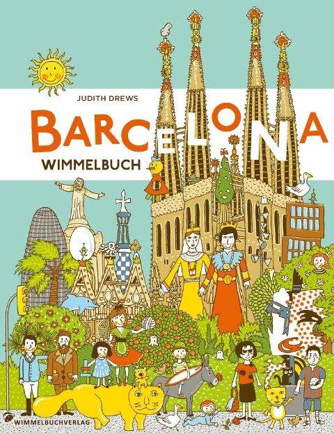 Barcelona Wimmelbuch -