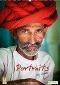 Portraits aus Indien (Wandkalender 2018 DIN A2 hoch) - Jens Benninghofen