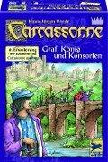 Carcassonne. Graf, König & Konsorten. 6. Erweiterung -
