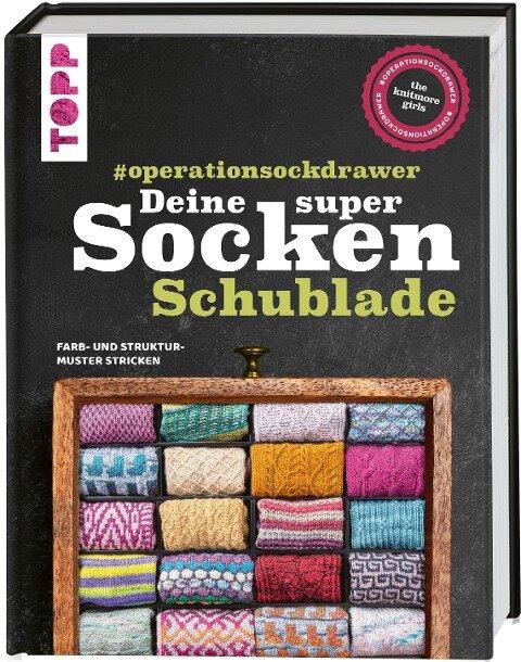 Deine super Socken-Schublade - #operationsockdrawer - The Knitmore Girls