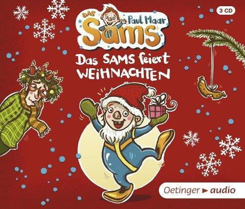 Das Sams feiert Weihnachten (3 CD) - Paul Maar