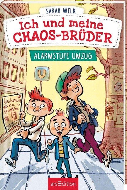 Ich und meine Chaos-Brüder - Alarmstufe Umzug (Ich und meine Chaos-Brüder 1)