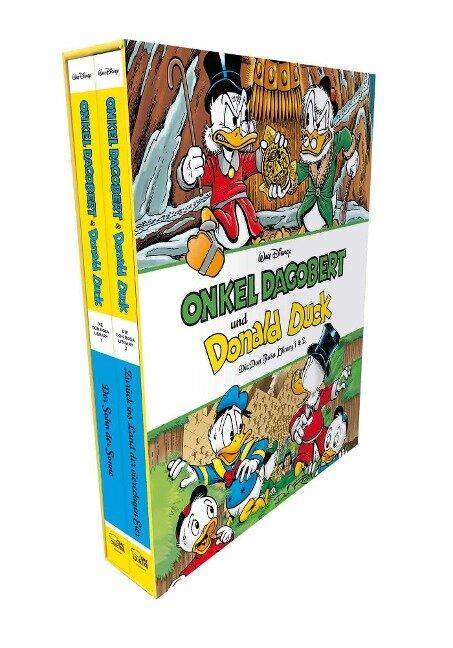 Onkel Dagobert und Donald Duck - Don Rosa Library Schuber 1 - Don Rosa