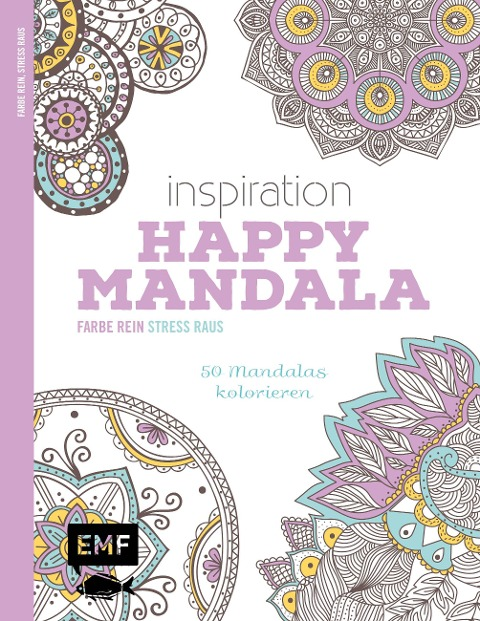 Inspiration Happy Mandala -