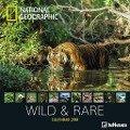 National Geographic Wild & Rare 30 x 30 Grid Calendar 2018 -