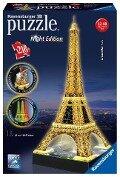 Eiffelturm bei Nacht. 3D-Puzzle 216 Teile -