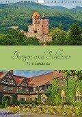 Burgen und Schlösser - Familienkalender (Wandkalender 2017 DIN A4 hoch) - Andrea Janke