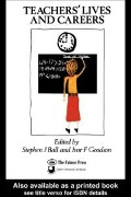 Teachers' Lives And Careers -