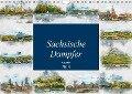 Sächsische Dampfer Aquarelle (Wandkalender 2019 DIN A4 quer) - Dirk Meutzner