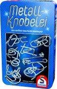 Metall-Knobelei in Metalldose -