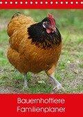 Bauernhoftiere Familienplaner (Tischkalender 2017 DIN A5 hoch) - Kattobello