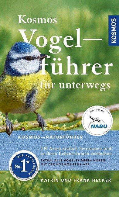Kosmos Vogelführer für unterwegs - Frank Hecker, Katrin Hecker