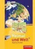 Heimat und Welt Weltatlas. Digitale Wandkarten. CD-ROM -