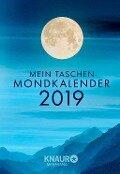 Mein Taschen-Mondkalender 2019 - Katharina Wolfram