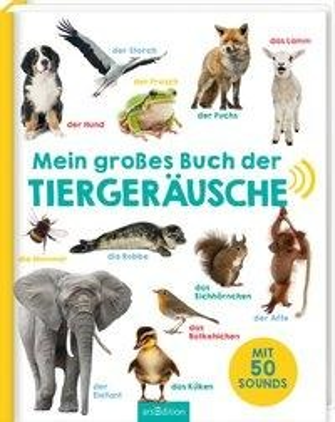Mein großes Buch der Tiergeräusche -