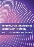 Computer, Intelligent Computing and Education Technology -