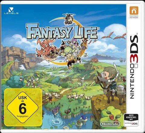 Fantasy Life. Nintendo 3DS -