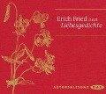 Liebesgedichte - Erich Fried