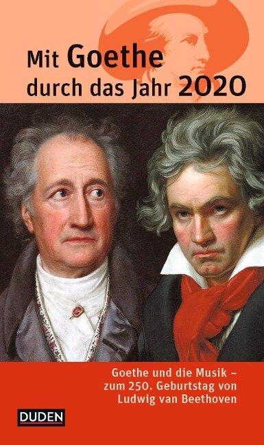 Mit Goethe durch das Jahr 2020 - Jochen Klauß