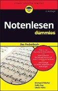 Notenlesen für Dummies Pocketbuch - Michael Pilhofer, Holly Day, Oliver Fehn